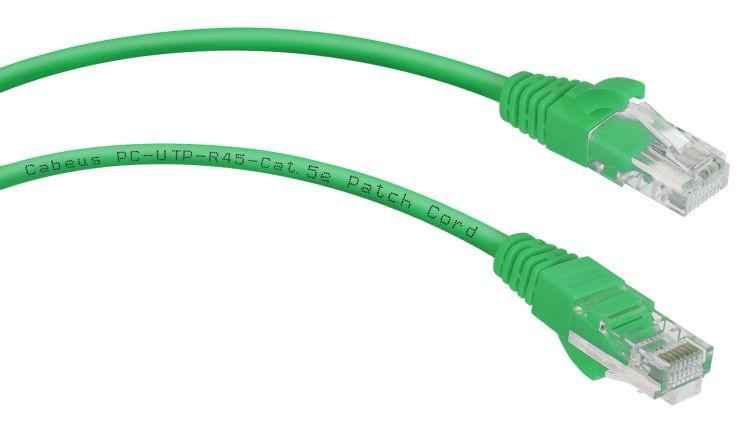 Cabeus PC-UTP-RJ45-Cat.5e-1.5m-GN