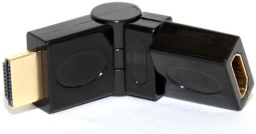 Переходник 5bites HH1004G HDMI M-HDMI F, Rotary 360°