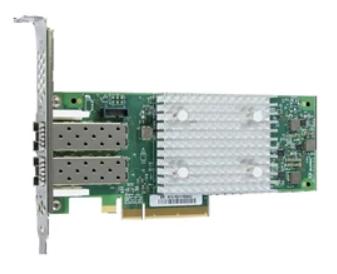 Адаптер Dell 403-BBMU Qlogic 2692, Dual Port 16GB Fibre Channel HBA контроллер qlogic qle2672 ck 16gb dual port fc hba x8 pcie lc multi mode optic активное охлаждение