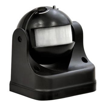 Датчик движения IEK LDD10-009-1100-002 ДД 009 черный, макс. нагрузка 1100Вт, угол обзора 180град., дальность 12м, IP44
