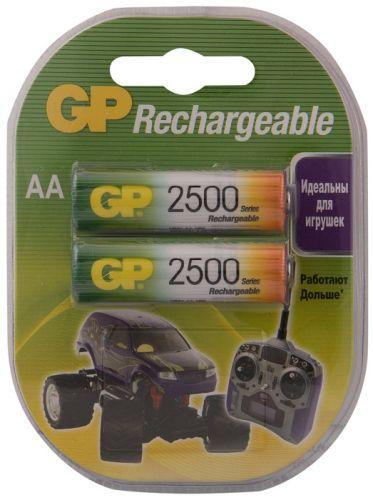 Аккумулятор GP 250AAHC 1.2V, 2500mAh, 2шт, size AA