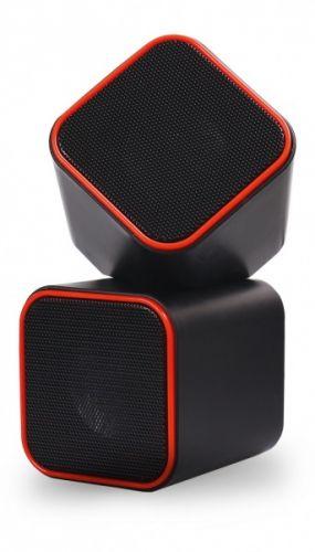 Компьютерная акустика SmartBuy CUTE SBA-2590 6Вт, USB, черно-оранжевые