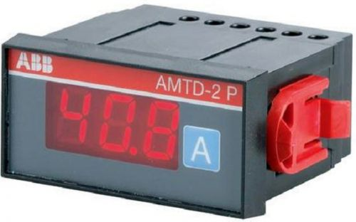 Амперметр ABB 2CSG213615R4011 (36х72мм) цифровой AC AMTD-1 P