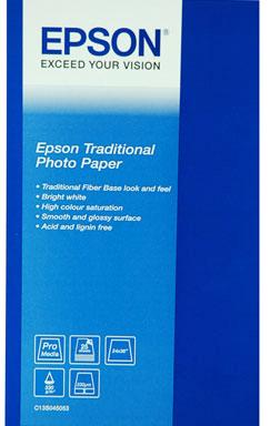 Фотобумага Epson C13S045052 Epson Traditional Photo Paper A2 epson