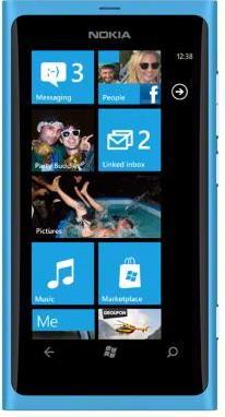 Nokia Lumia 800 Matt Cyan