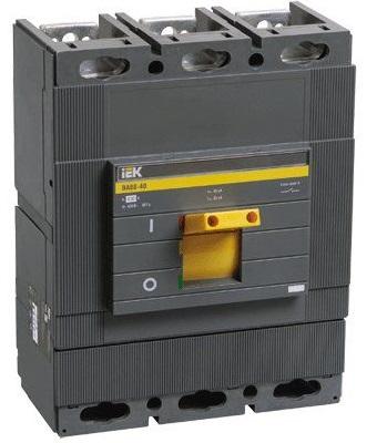 Автоматический выключатель IEK SVA50-3-0400 ВА88-40 3Р 400А 35кА