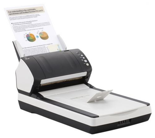 Сканер Fujitsu fi-7240 PA03670-B601 40 стр./мин, ADF 80 + Flatbed, USB 3.0,двухсторонний
