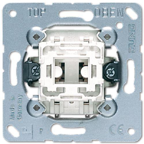 Выключатель Jung 531U (механизм) 1-клавишный кнопочный (1 НО контакт)