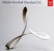 Adobe Acrobat Standard DC for enterprise 1 User Level 4 100+, 12 Мес.