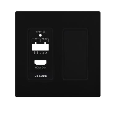 Панель лицевая Kramer WP-789R US PANEL SET 61-10000299 для приемника WP-789R/US-D(W), черный