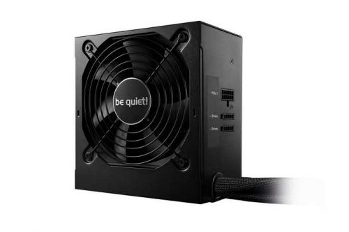 Блок питания ATX Be quiet! SYSTEMPOWER 9 CM BN301 500W, ATX 2.51, Active PFC, 80 PLUS Bronze, 120mm fan, modular блок питания atx 700 вт be quiet system power 9 bn248