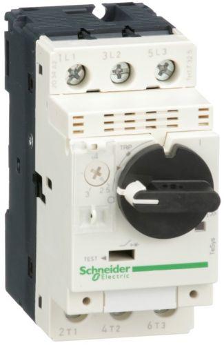 Автоматический выключатель Schneider Electric GV2P08 с комбинированным расцепителем (2,5-4А)