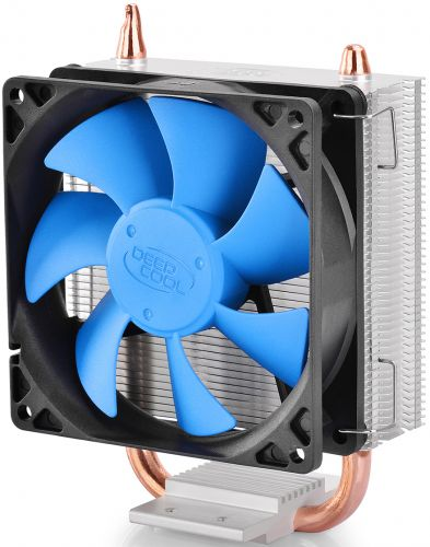 Кулер Deepcool ICE BLADE 100 S775/1150/1155/1156/1356/1366/AM2/AM2+/AM3/AM3+/FM1/FM2/754/939/940 (Al+Cu,92x92x25 мм,2200rpm,42.95 CFM,31.6 дБ,3-pin) кулер для процессора deep cool gammaxx 300 socket 1155 1156 1366 fm1 fm2 am3 am2 939 754 медь