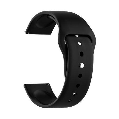 Ремешок на руку Lyambda ALTAIR DS-APS08-44-BK силиконовый для Apple Watch 42/44 mm black ремешок для часов lyambda для apple watch 42 44 mm libertas ds apg 06 44 bk black