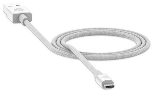 Кабель Mophie 409903211 USB-A to micro-USB, 1м, белый аксессуар proel usb a micro usb a 1 8m usb1aamlu18