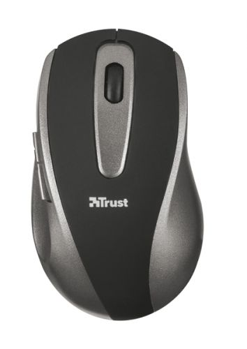 мышь trust varo wireless ergonomic mouse black usb Мышь Wireless Trust EasyClick USB, 1000dpi, black