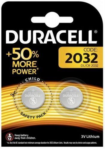 Батарейка Duracell CR2032 2шт
