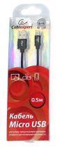 Cablexpert CC-S-mUSB01Bk-0.5M