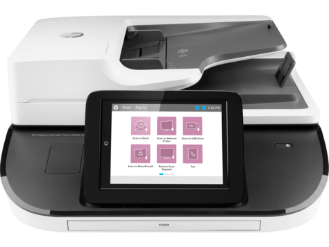 Digital Sender Flow 8500 fn2 Документ-сканер HP Digital Sender Flow 8500 fn2 L2762A