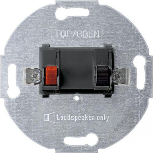 Розетка Schneider Electric MTN466914 Merten (механизм) аудио 1-ая для громкоговорителя, пружинные клеммы, IP20 (антрацит)
