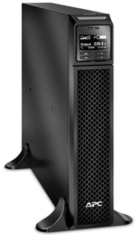 Источник бесперебойного питания APC SRT3000XLI Smart-UPS SRT, 3000VA/2700W, On-Line, Extended-run, Tower, Black