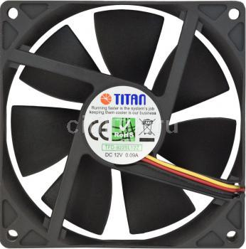 Titan Вентилятор для корпуса Titan TFD-9225L12Z