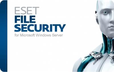 Eset File Security для Microsoft Windows Server for 1 server продление 1 год