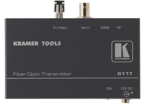 Передатчик Kramer 611T 90-611090 композитного видео по волоконно-оптическому каналу, 0.27кг