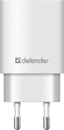 Фото - Зарядное устройство сетевое Defender UPA-31 83587 3xUSB, 5V/3.1А , белый зарядное устройство defender upa 22 2xusb black 83579