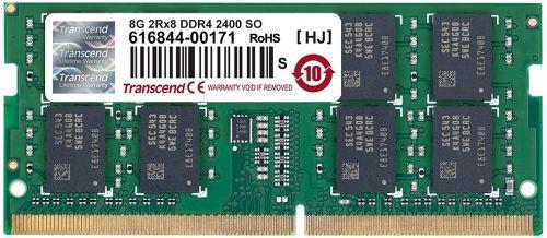 Фото - Модуль памяти SODIMM DDR4 8GB Transcend TS1GSH64V4H PC4-19200 2400MHz 2Rx8 CL17 1.2V модуль памяти hynix ddr4 dimm 2400mhz pc4 19200 cl15 8gb hma81gu6afr8n uhn0