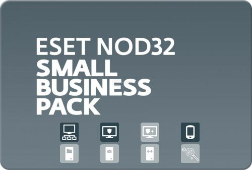 Eset NOD32 Small Business Pack for 97 users, 1 мес.