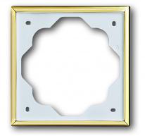 Рамка ABB 1754-0-4507 2CKA001754A4507 1 пост, IP20 (золото)