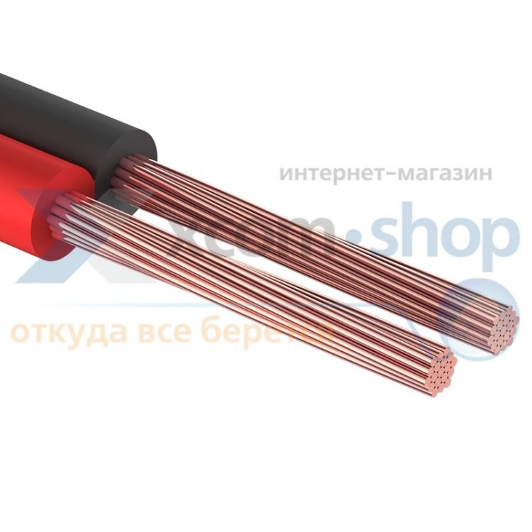 PROCONNECT 2х0.35 мм², красно-черный, 100 м.