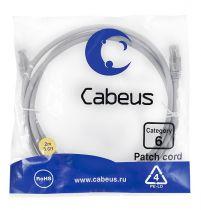 Cabeus PC-UTP-RJ45-Cat.6-2m