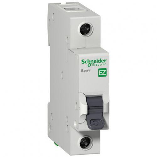 Автоматический выключатель Schneider Electric EZ9F34125 EASY 9 1P 25A (C) автоматический выключатель schneider electric ez9f34416 easy 9 4p 16a c