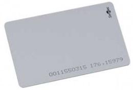 Карта Smartec ST-PC021MC7 смарт MIFARE CLASSIC 1K 7B UID, ISO - для печати на принтере, 86х54х0.8мм.