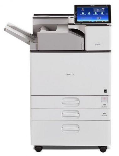 Принтер монохромный лазерный Ricoh SP 8400DN 408064 сетевой А3 с дуплексом, 60 стр./мин, PCL/PS3, сеть/дуплекс (тонер приобретается отдельно)