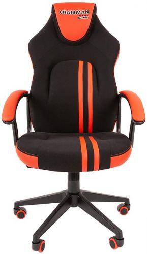 Кресло офисное Chairman game 26 Chairman 7053961 черн.красный офисное кресло chairman game 20 mebelvia