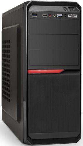 Корпус ATX Exegate AX-251U2-XP400 EX287519RUS черный,БП 400W,USB, 2*USB3.0,аудио
