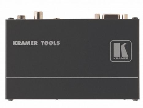 Приемник Kramer TP-122N 90-709510090 VGA и звуковых стерео (аналоговый и S/PDIF) сигналов из витой пары (TP), с регулировкой уровня и АЧХ