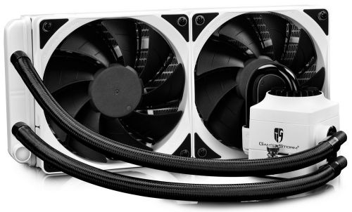 Deepcool Система охлаждения жидкостная Deepcool CAPTAIN 240 EX WHITE