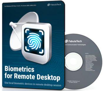 FabulaTech Biometrics for Remote Desktop 50 User sessions 2-10 Licenses