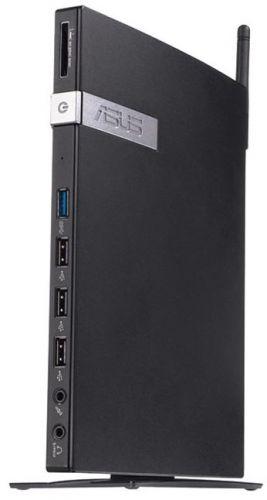 Неттоп ASUS VivoPC E210-B0620 90PX0061-M01830 slim Cel N2807 (1. 58)/4Gb/SSD32Gb/H DG/CR/noOS/GbitEt h/WiFi/45W/черный