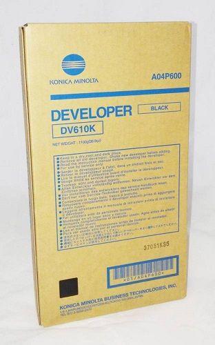 Картридж Konica Minolta A04P600 Носитель черный DV-610K Konica-Minolta bizhub Pro C6500