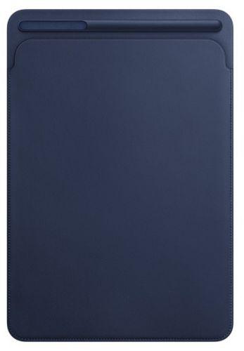 Фото - Чехол Apple Leather Sleeve (MPU22ZM/A) for 10.5-inch iPad Pro - Midnight Blue чехол для ipad pro 12 9 apple leather sleeve black