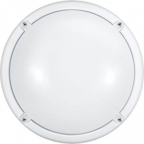 Светильник светодиодный Navigator 19994 ДБП-7w с оптико-акустическим датчиком 4000K 520Лм круглый пластиковый IP65 белый ОНЛАЙТ (71622 OBL-R1) светильник светодиодный аргос трейд дбп жкх эконом 7983793