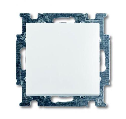 Выключатель ABB 1012-0-2145 BASIC 55 одноклавишный проходной в рамку, 10А, 250В, IP20 сх.7 белый