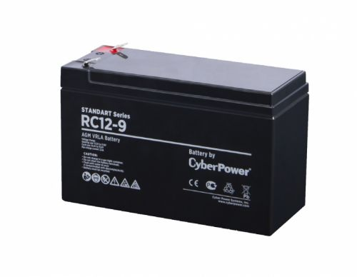 Фото - Батарея для ИБП CyberPower RC 12-9 12V 9 Ah ибп cyberpower value600ei b 600va