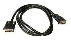 Кабель интерфейсный DVI-DVI Cablexpert 25M/25M CC-DVI2-6C 1.8м, Dual Link, экран, феррит.кольца, пакет кабель vcom dvi dvi dual link 25m 25m 3m 2 фильтра позолоченные контакты