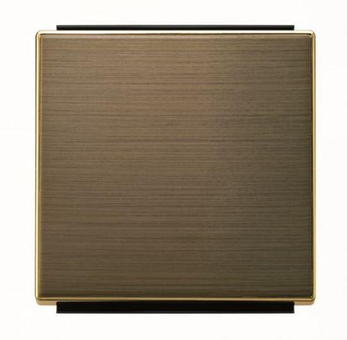 Клавиша ABB 2CLA850100A1201 для 1-клавишных выключателей/переключателей/кнопок античная латунь